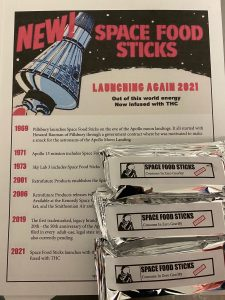The Vivid Team brings you Space Food Sticks